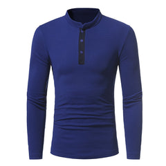 new  Fashion personality  men's classic leisure  long sleeved T-shirt