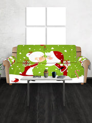 Christmas Lover Pattern Couch Cover