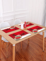 1PC Merry Christmas Deer Printed Placemat