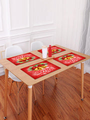 1PC Merry Christmas Bells Printed Placemat