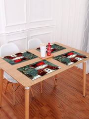 Christmas Cloak Snowman Pattern Placemat