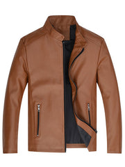 Men Classic Stand Collar Wearable Stylish Jacket