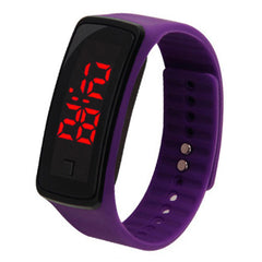 LED Watch Fashion Electronic Watch Children'S Boys and Girls Sports Bracelet
