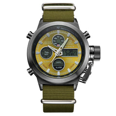 Outdoor Sports Military Watch Quartz Double Movement Watch