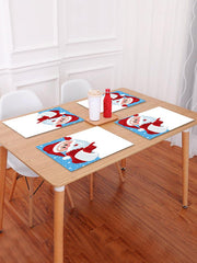 Christmas Santa Claus Pattern Placemat