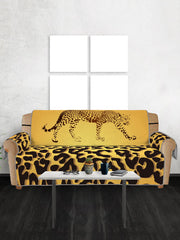 Leopard Pattern Protector Couch Cover