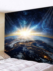 Starry Sky Universe Printed Tapestry Art Decoration