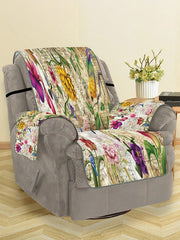 Vintage Flower Pattern Couch Cover