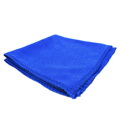 Car with Microfiber Cleaning Towel Small Towel Absorbent Car Wash Cleaning Towel Blue Waxing Towel