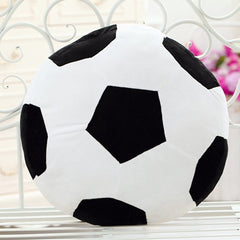 Fashion Football Pattern Round Shape Pillow For Home Decoration