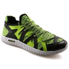Casual Color Block and Lace-Up Design Athletic Shoes For Men