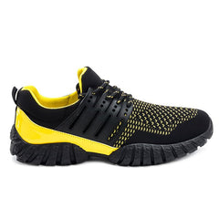 Lace-Up Splicing Colour BlockAthletic Shoes