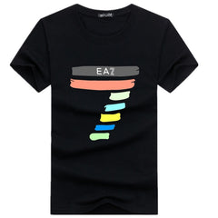 Men's T-shirt with round collar