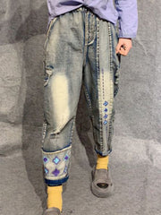 Denim & Jeans Vintage Spring Stars Autumn Basic Daily Casual