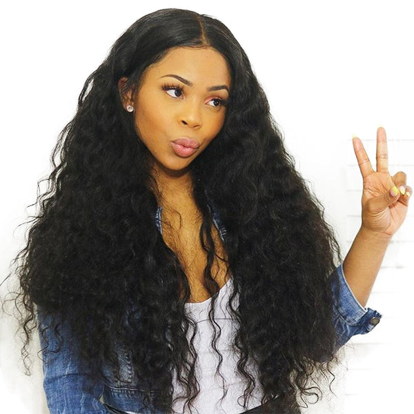 Wave full lace front wig 360 lace front
