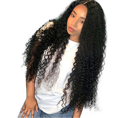 Curly Hair Wig 250% Density Hair Wig Lady Lace Wig
