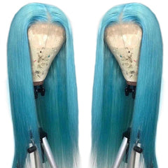 Lace human hair wig lace wig Brazilian straight hair wig