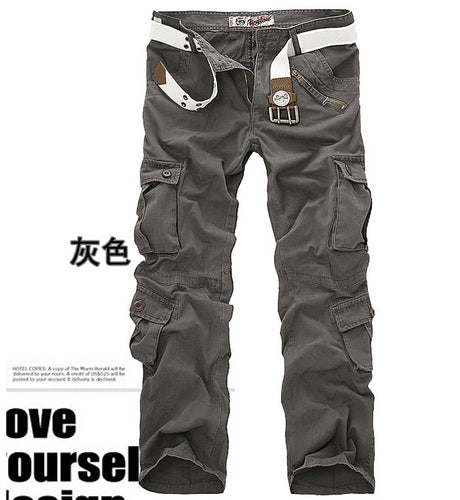 Camouflage men's military trousers