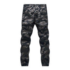 Pencil Loose Camouflage Pants