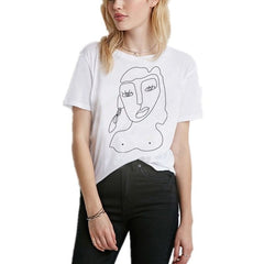 Street Style Interesting Printed Leisure T-shirt