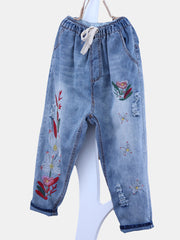 Denim & Jeans Daily Casual Summer Capri Spring