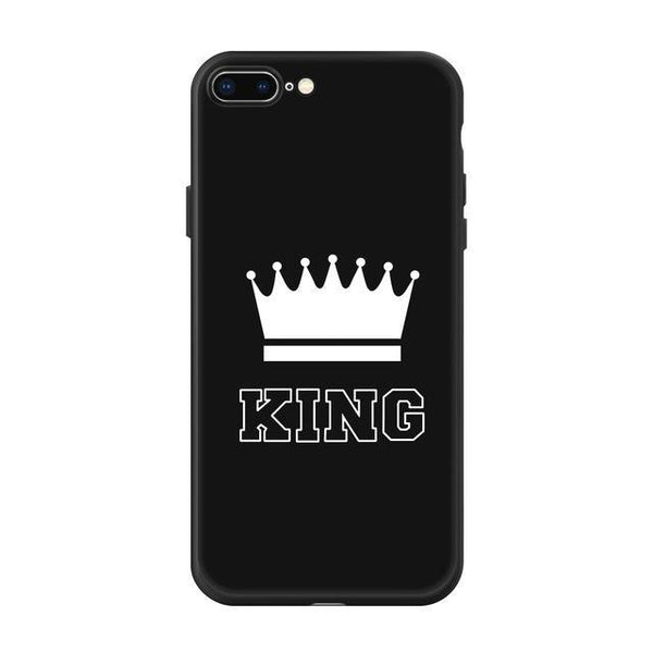 Bestcouplegifts King / For iPhone 5 5S SE