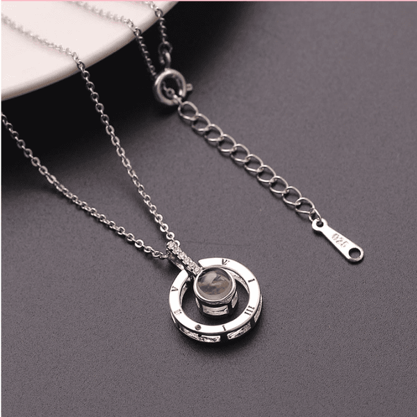 Bestcouplegifts Silver color Say