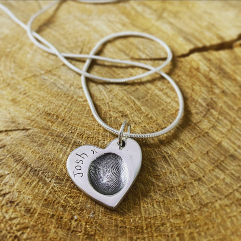 FINGERPRINT PENDANTS from £45
