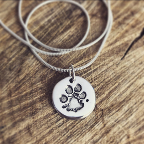 PAW PRINT & NOSE PRINT JEWELLERY from £45.00