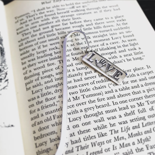 handprint bookmark
