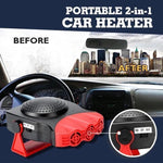 Glass defrosting snow defogger Car Heater