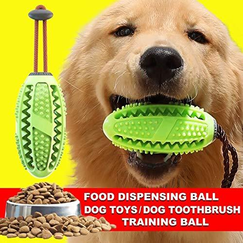 Dog Toothbrush Multi-purpose Dog Biting Toy Leaking Food Ball