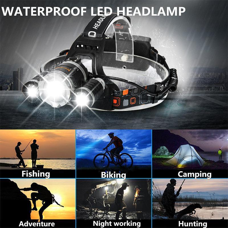 Revolutionary Headlamp ZOOM Flashlight 2019 Version