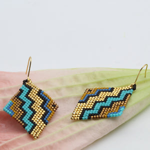 Missoni Zig Zag Gold Striped