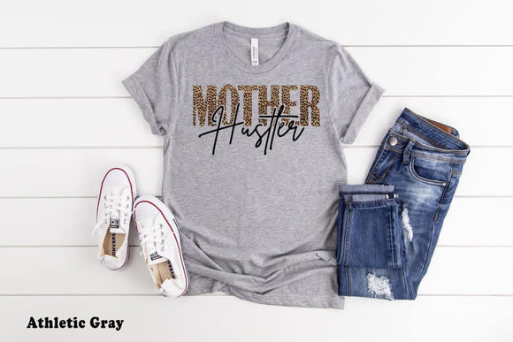 CUTE NEW GRAPHICS -MOTHER HUSTLER-Super soft Bella Tees