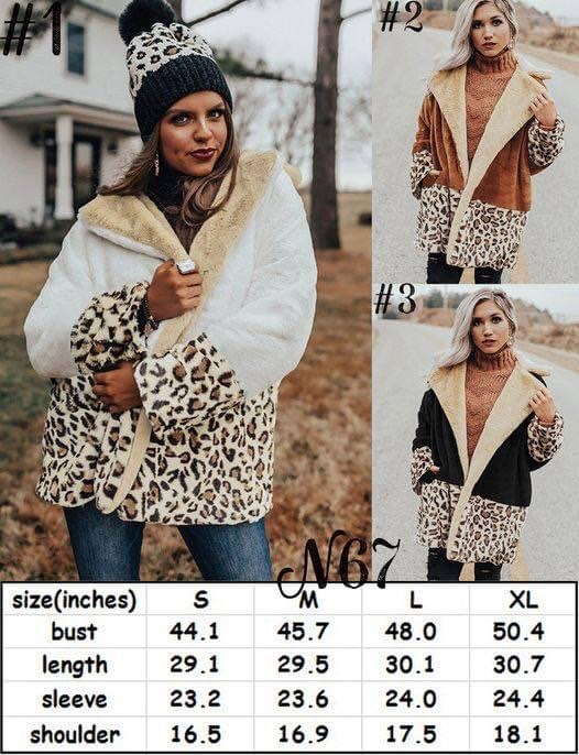 OVERSIZED GORGEOUS ANIMAL PRINT COATS