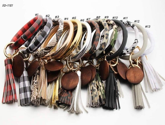 Amazing Key Ring Bracelet for $10-with 13 color choices