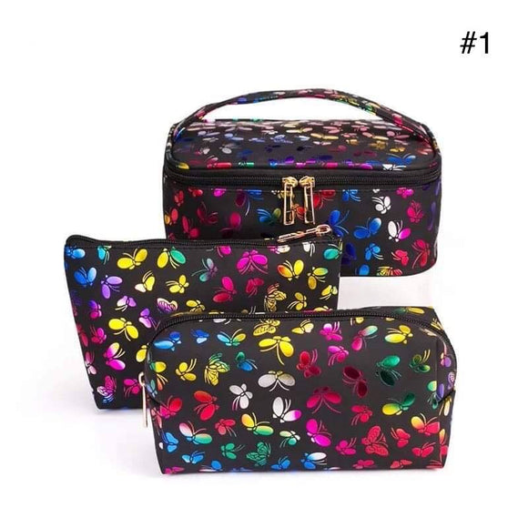 3 piece Makeup Bag Sets for $24