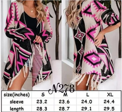 AMAZINGLY Beautiful Knit Aztec Knit Cover Up