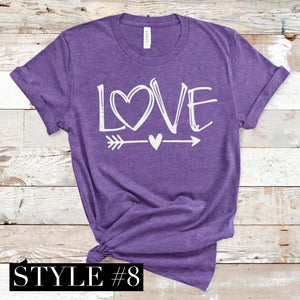 CUTE LOVE T-SHIRT -Super soft Bella Tees-