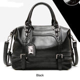 Soft PU Leather Large Handbag