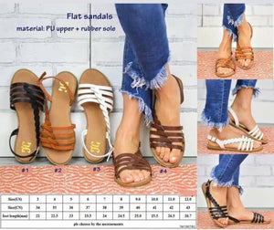 PU Leather Sandals