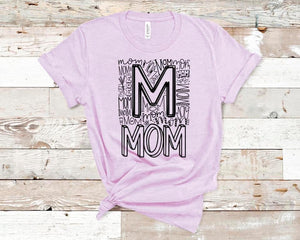 CUTE NEW GRAPHICS -MOM-Super soft Bella Tees