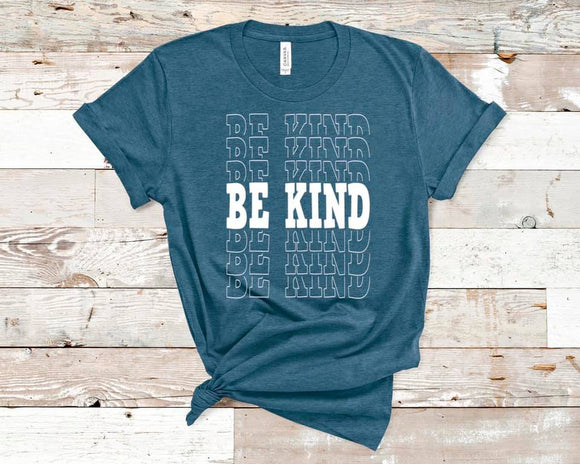 CUTE NEW GRAPHICS -BE KIND-Super soft Bella Tees