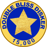 Double Bliss Diskers - package of 15 disks * $99 *