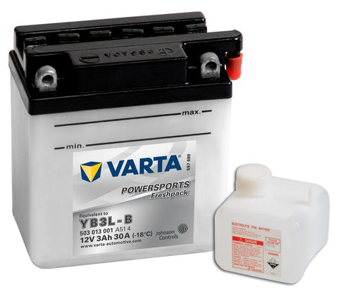 Varta Mc-batterier YB3L-B
