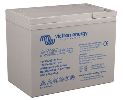 Victron Energy 12 Volt 60Ah AGM Super Cycle Batt.