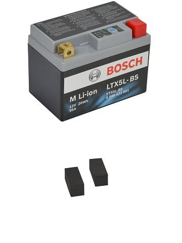 BOSCH Mc Lithium Batteri LTX5L-BS