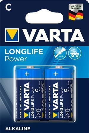 Varta High Energy Alkaline C  (LR14) 2-Pack Blister