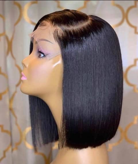 Full Lace Wig Straight Bob